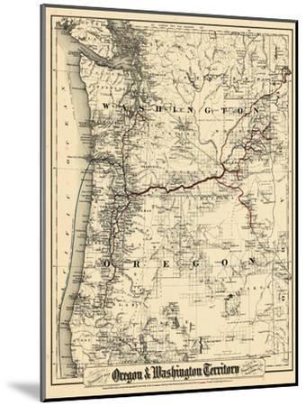 1880, Oregon and Washington State Map, Oregon, United States Giclee on aerial view of oregon state, printable map of washington state, google maps of oregon state, printable map of oregon counties, printable map of ny state, printable map of kentucky state, topographical map of oregon state, printable blank maps oregon, geography of oregon state, home of oregon state, printable map of oregon zip code, interactive map of oregon state, printable map of salem oregon, printable map of southern oregon, printable map of new york state, wildlife of oregon state,
