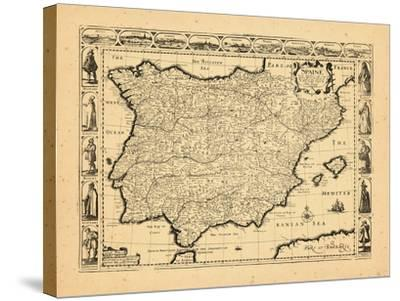 1626, Portugal, Spain--Stretched Canvas Print