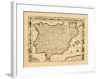 1626, Portugal, Spain--Framed Giclee Print