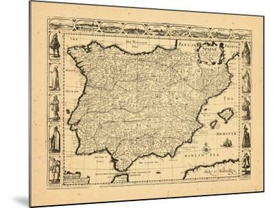 1626, Portugal, Spain--Mounted Giclee Print