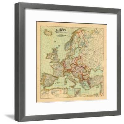 1920, Europe--Framed Giclee Print