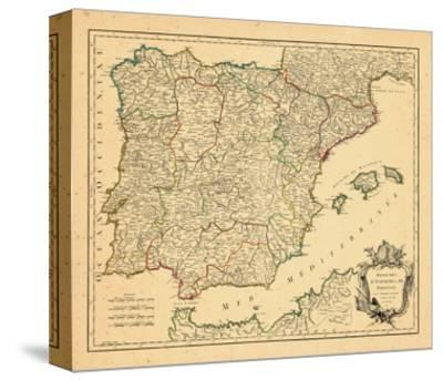 1750, Portugal, Spain--Stretched Canvas Print