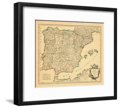 1750, Portugal, Spain--Framed Giclee Print