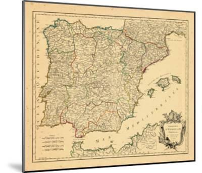 1750, Portugal, Spain--Mounted Giclee Print