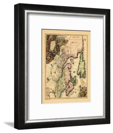 1750, Canada--Framed Giclee Print