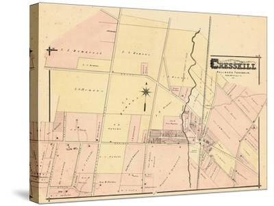 1876, Cresskill, New Jersey, United States--Stretched Canvas Print