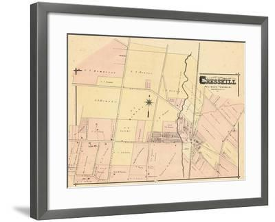 1876, Cresskill, New Jersey, United States--Framed Giclee Print