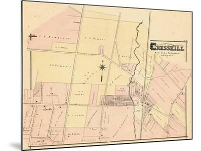 1876, Cresskill, New Jersey, United States--Mounted Giclee Print