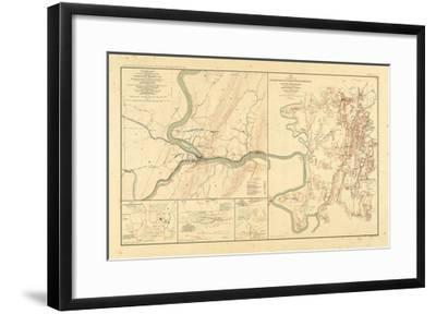 1891, Maryland, Virginia, Civil War--Framed Giclee Print