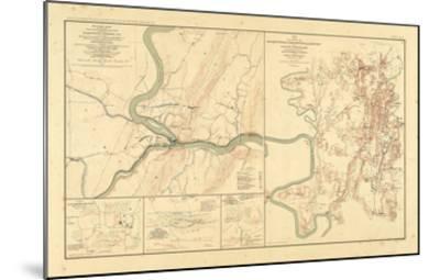 1891, Maryland, Virginia, Civil War--Mounted Giclee Print