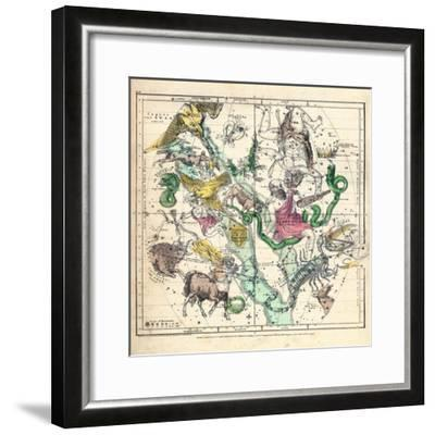 1835, Constellations July - September--Framed Giclee Print