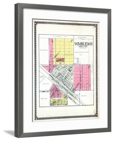 1928, Wimbledon, North Dakota, United States--Framed Giclee Print