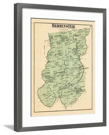 1873, Bedminster Township, New Jersey, United States--Framed Giclee Print