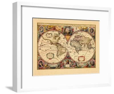 1633, World--Framed Giclee Print