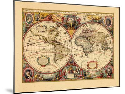 1633, World--Mounted Giclee Print