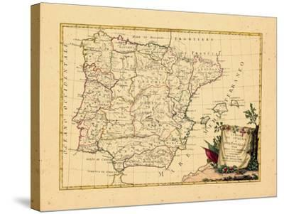 1775, Portugal, Spain--Stretched Canvas Print