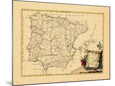 1775, Portugal, Spain--Mounted Giclee Print