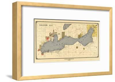 1921, Lake Geneva 1921, Wisconsin, United States--Framed Giclee Print