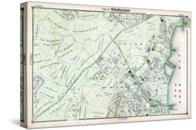1874, Stapleton, New York, United States, Staten Island--Stretched Canvas Print