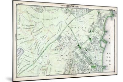 1874, Stapleton, New York, United States, Staten Island--Mounted Giclee Print
