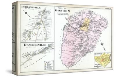 1903, Goshen Town, Durlandville, Randellville, New York, United States--Stretched Canvas Print