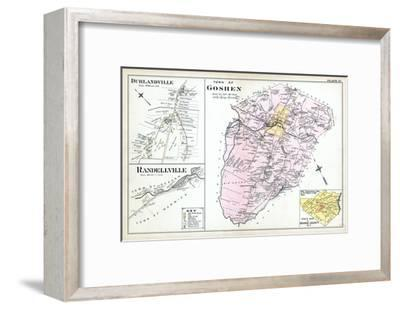 1903, Goshen Town, Durlandville, Randellville, New York, United States--Framed Giclee Print