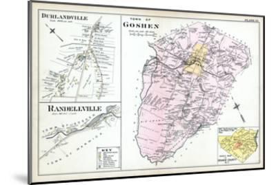 1903, Goshen Town, Durlandville, Randellville, New York, United States--Mounted Giclee Print