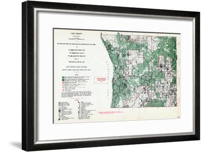 1955, Luce County, Michigan, United States--Framed Giclee Print