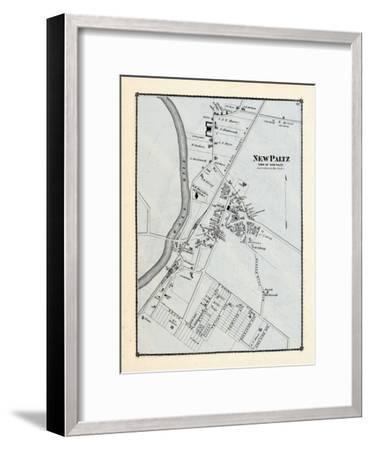 1875, New Paltz, New York, United States--Framed Giclee Print