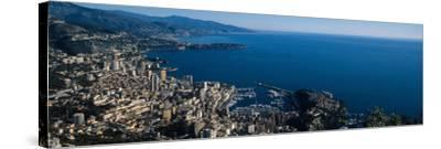 City at the Waterfront, Monte Carlo, Monaco--Stretched Canvas Print
