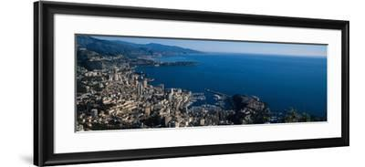 City at the Waterfront, Monte Carlo, Monaco--Framed Photographic Print