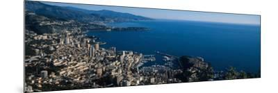 City at the Waterfront, Monte Carlo, Monaco--Mounted Photographic Print