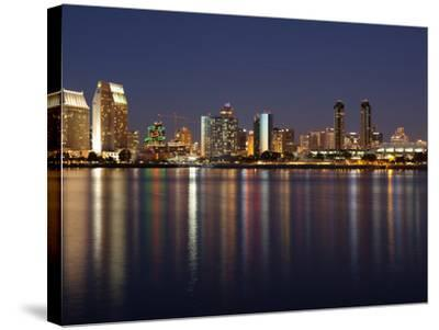 Buildings at the Waterfront, San Diego, California, USA--Stretched Canvas Print