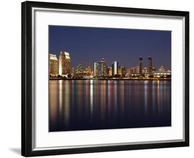 Buildings at the Waterfront, San Diego, California, USA--Framed Photographic Print