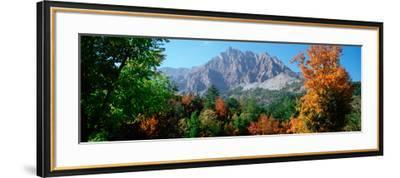 Pelens Needle in Autumn, French Riviera, Provence-Alpes-Cote D'Azur, France--Framed Photographic Print