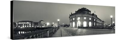 Bode-Museum on the Museum Island at the Spree River, Berlin, Germany--Stretched Canvas Print