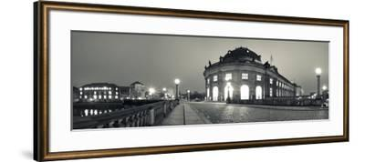 Bode-Museum on the Museum Island at the Spree River, Berlin, Germany--Framed Photographic Print