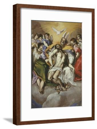The Trinity 1577-9 Painted at Toledo 300X179Cm-El Greco-Framed Giclee Print