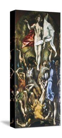 Resurrection of Christ, 1605-10-El Greco-Stretched Canvas Print