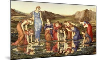 The Mirror of Venus-Edward Burne-Jones-Mounted Giclee Print