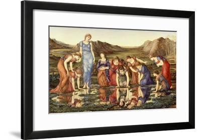 The Mirror of Venus-Edward Burne-Jones-Framed Giclee Print