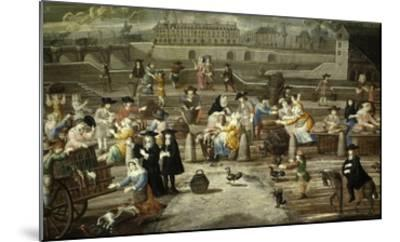 Game and Bread Market Paris by Unknown French Artist 17th Century--Mounted Giclee Print