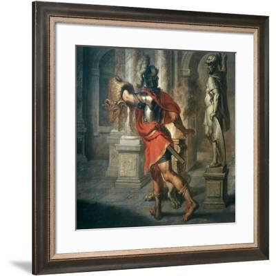 Jason and the Golden Fleece (Greek Hero Who Exchanged Fleece for His Kingdom), 181x195cm-Erasmus Quellinus-Framed Giclee Print