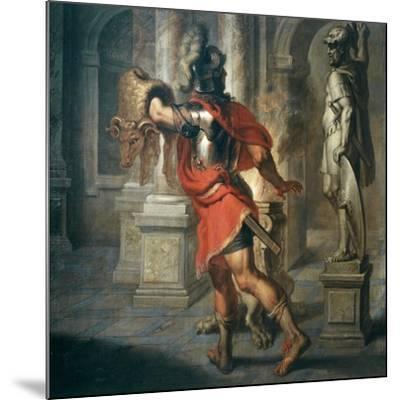 Jason and the Golden Fleece (Greek Hero Who Exchanged Fleece for His Kingdom), 181x195cm-Erasmus Quellinus-Mounted Giclee Print