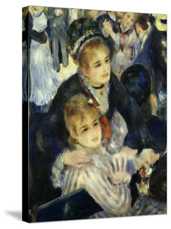 Smiling Women, from Bal Du Moulin De La Galette, Dance at Moulin De La Galette, Paris, 1876, Detail-Pierre-Auguste Renoir-Stretched Canvas Print