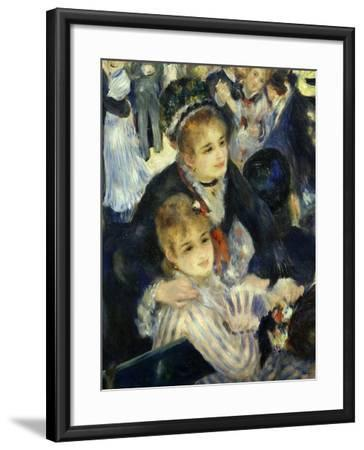 Smiling Women, from Bal Du Moulin De La Galette, Dance at Moulin De La Galette, Paris, 1876, Detail-Pierre-Auguste Renoir-Framed Giclee Print