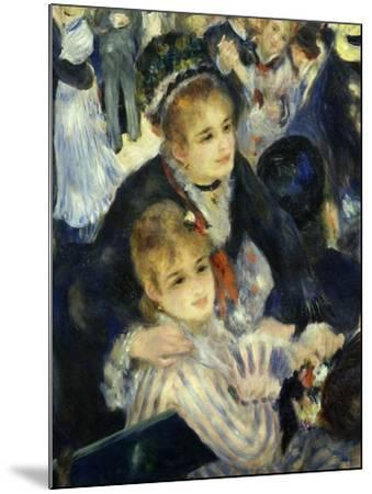 Smiling Women, from Bal Du Moulin De La Galette, Dance at Moulin De La Galette, Paris, 1876, Detail-Pierre-Auguste Renoir-Mounted Giclee Print