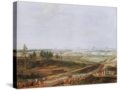Investment of Yorktown, America by Americans and French in 1781 Painted 1784-Louis Nicolas van Blarenberghe-Stretched Canvas Print