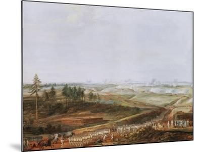 Investment of Yorktown, America by Americans and French in 1781 Painted 1784-Louis Nicolas van Blarenberghe-Mounted Giclee Print
