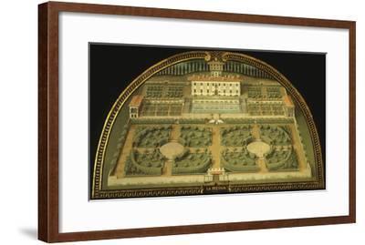 La Petraia Villa, Built for the De Medici Family, Tuscany, Italy, from Series-Giusto Utens-Framed Giclee Print